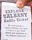 Explore UAlbany raffle ticket