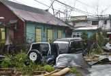 Damage from Hurricand Maria in Puerto Rico