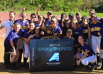 UAlbany Women's Softball America East Champions 2014