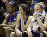 UAlbany's Women's Basketball Team at the 2012 NCAA Tournament