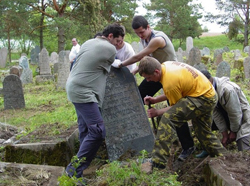 Restoring a Jewish cemetery