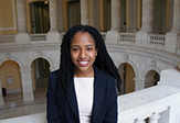 UAlbany's Yanelis Martinez, a student leader whose goal is law school
