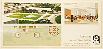new School of Business building rendering