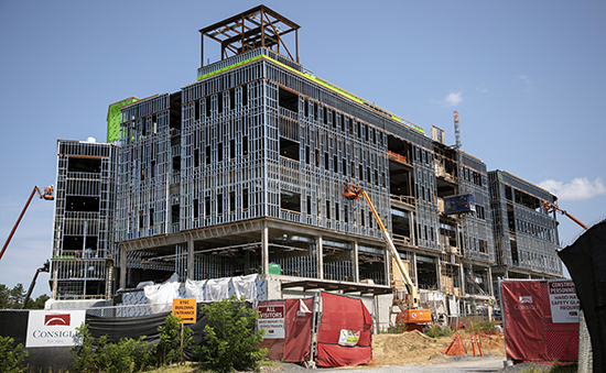 What's New in Campus Construction - University at Albany-SUNY