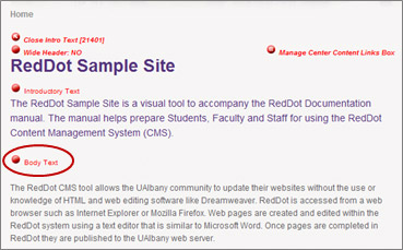 How to Upload and Link to a New Document - RedDot