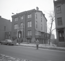 Madison Cathedral Rectory 1963