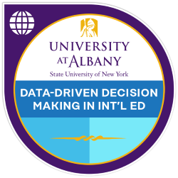 Digital badge for Data-Driven Decision Making in International Education