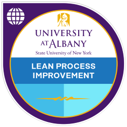 Digital badge for Lean Process Improvement and Institutional Operations