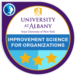 Digital badge for Improvement Science For Organizations