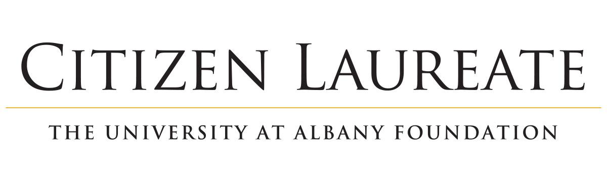 Citizen Laureate Awards The University at Albany Foundation and 40 on a red seal