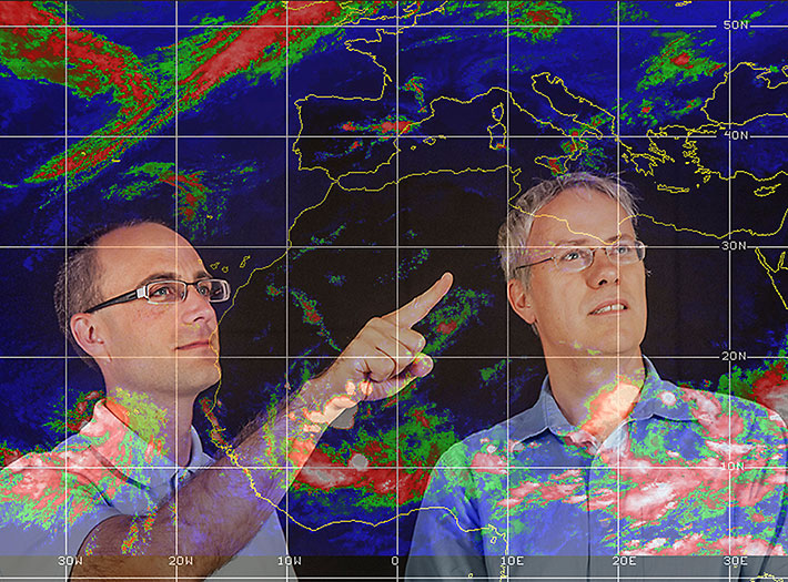 Two UAlbany professors discuss weather patterns
