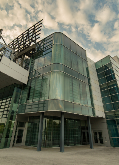 UAlbany's Cancer Research Center exterior
