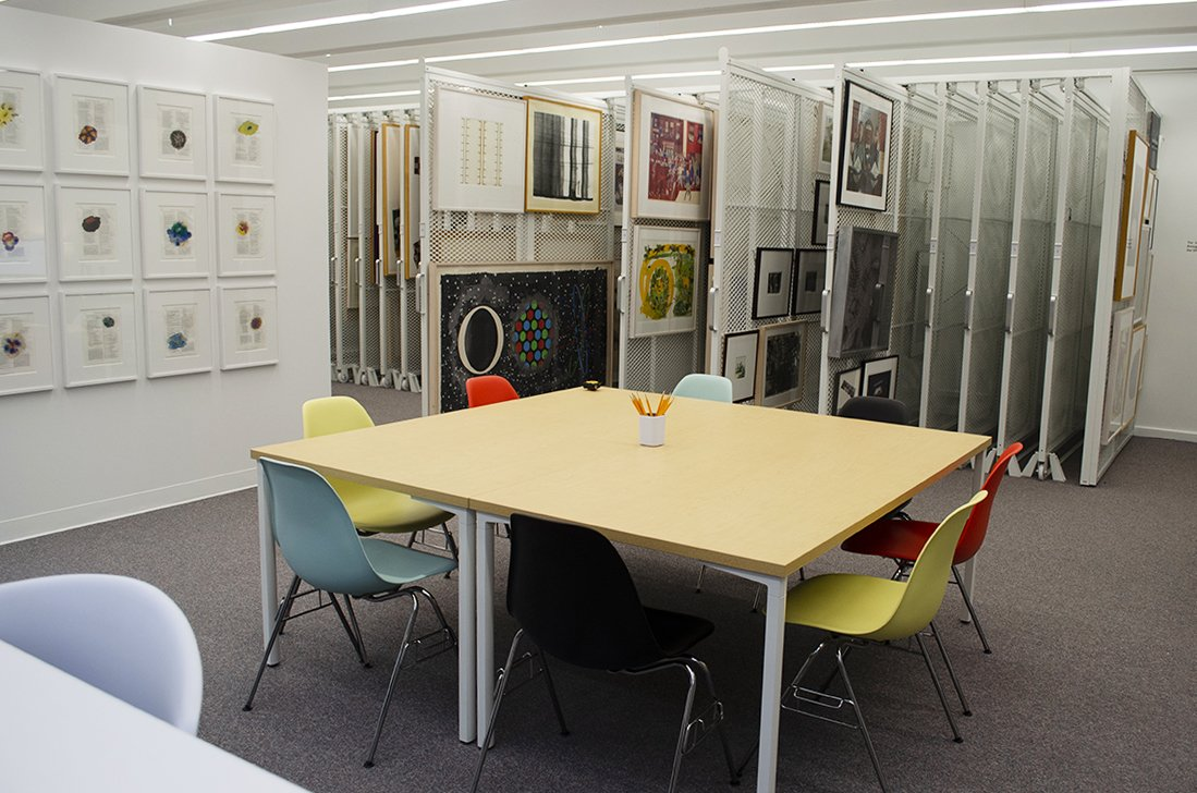 The University Art Museum's New Collections Study Space Now Open
