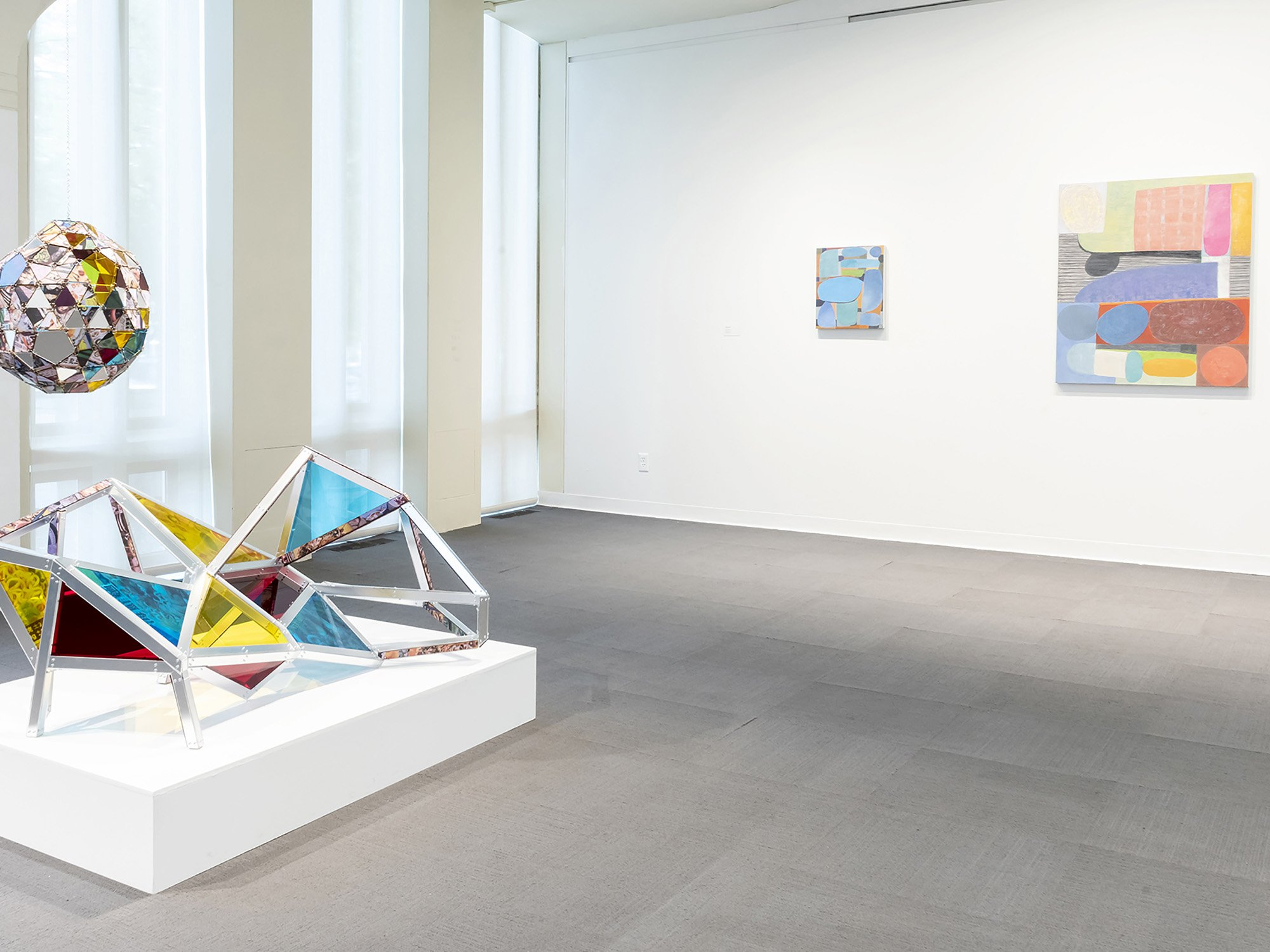 2018 Artists of the Mohawk Hudson Region, installation view