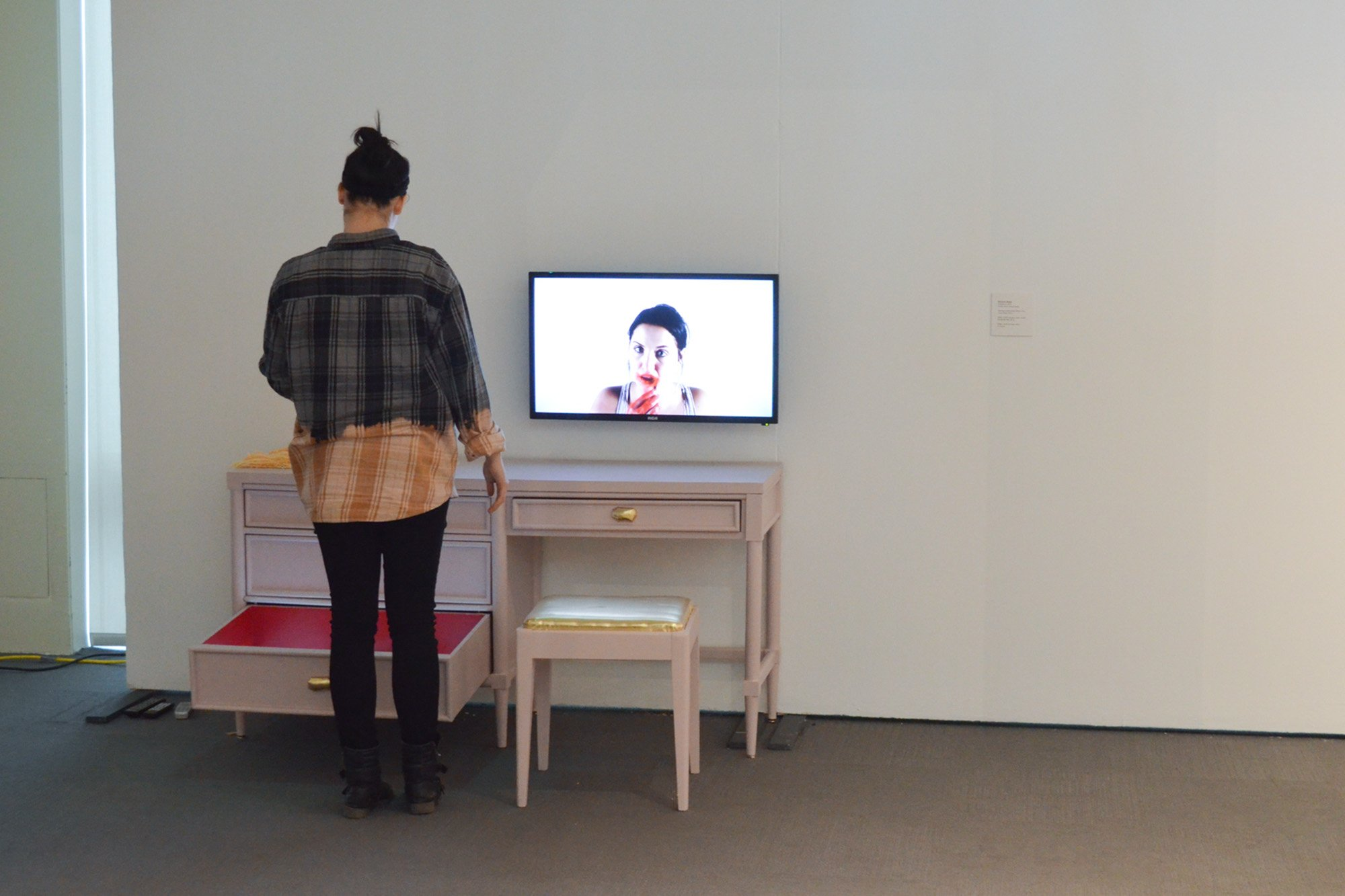 MFA Thesis 2017 Installation view