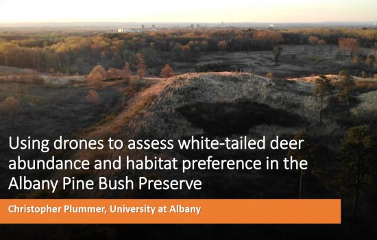 Using Drones to Assess the Winter Habitat Preference and Abundance of White-tailed Deer in the APBP screenshot