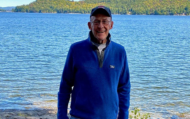 Ron Forbes at Schroon Lake