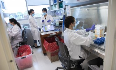 UAlbany researchers conduct COVID-19 surveillance testing at the RNA Institute
