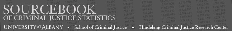 Sourcebook of Criminal Justice Statistics