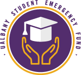 University at Albany Student Emergency Fund Logo