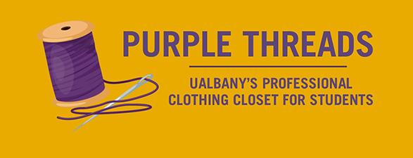 Purple Threads Banner
