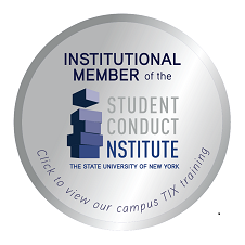 SUNY Student Conduct Institute Titel IX Training Logo