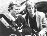 D. A. Pennebaker and Chris Hegedus at work