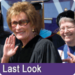Judge Judy at the Sprin 2012 Commencement
