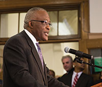 UAlbany President Robert J. Jones