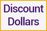 Discount Dollars Text