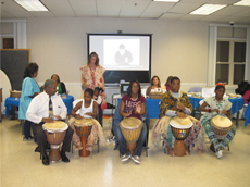 Kuumba Dance and Drum students from Operation Unite Education and Cultural Arts Center
