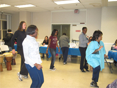 Operation Unite Education and Cultural Arts Center led a demonstration of Latin Dance Movementss