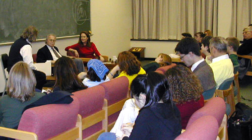 Afternoon Seminar, UAlbany, 12/4/01