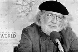 Ernesto Cardenal Photo Credit: Mel Rosenthal