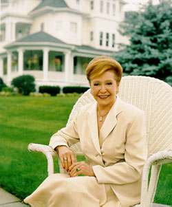 Mary Higgins Clark, photo by Bernard Vidal