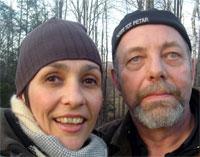 Pierre Joris and Nicole Peyrafitte