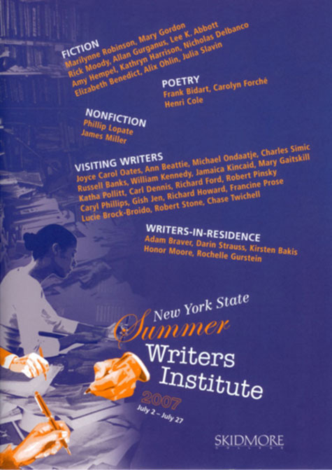 New York State Summer Writers Institute