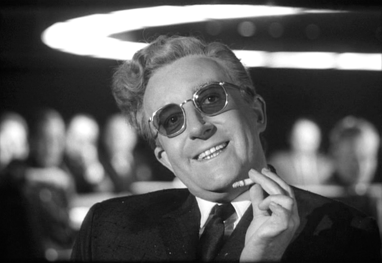 A still from Dr. Strangelove, directed by Stanley Kubrick