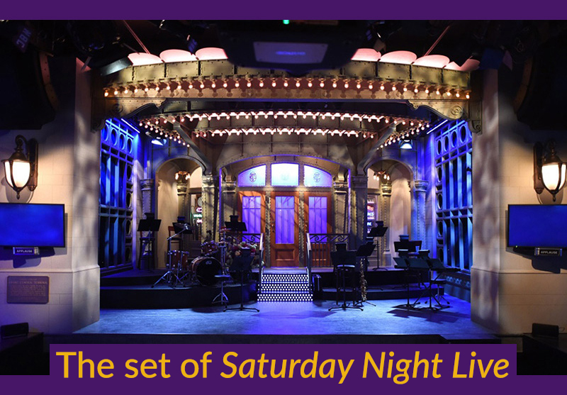 The set of Saturday Night Live