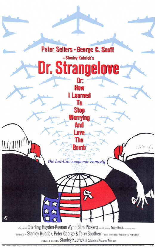 Theatrical release poster by Tomi Ungerer